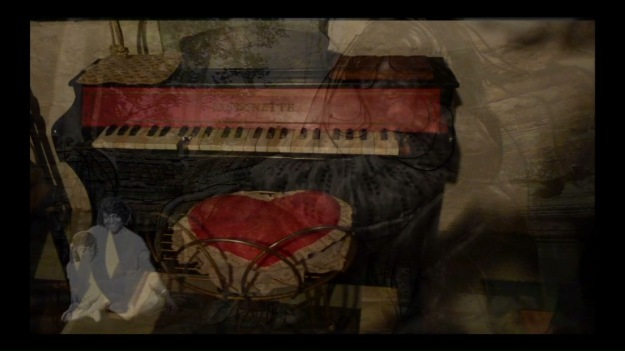 "Piano Hair, video stilll from ""The Glory Prelude"""