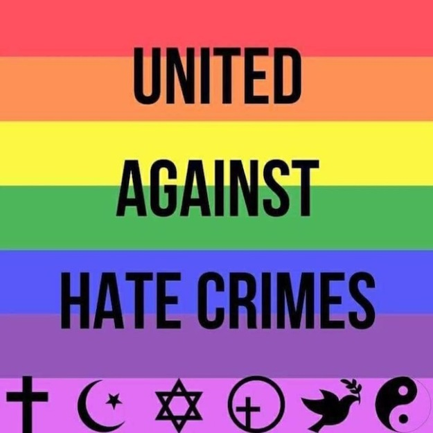 UNITED AGAINST HATE CRIMES