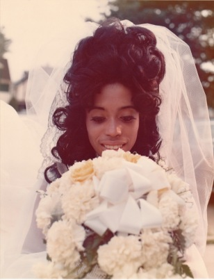 Wedding day 25 August 1973