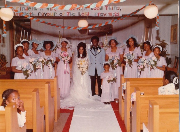 Wedding Party, women i the dresses I made.jpg