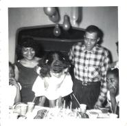 MY FAMILY AT MY FIFTH BIRTHDAY PARTY