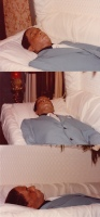 My father in casket