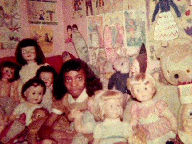 Thylias with dolls