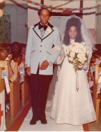 Calvin Theodore Brasier and Thylias Brasier; my wedding