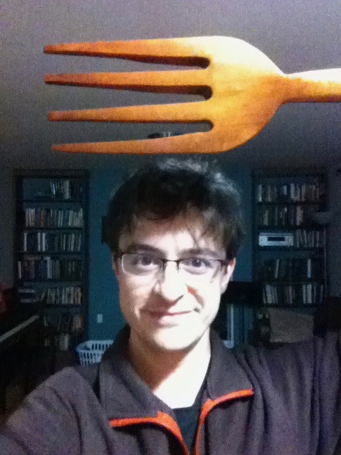 Jason Kirk (with fork)