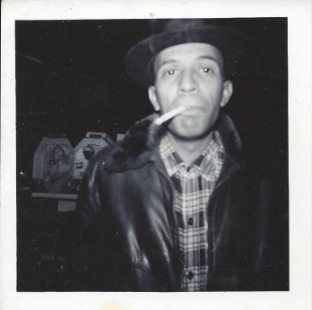 Calvin Brasier with Pall Mall cigarette