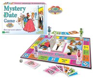MYSTERY DATE BOARD AND PLAYIGN PIECES